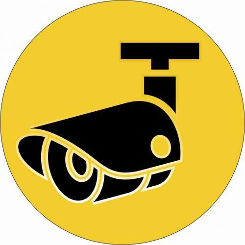 Zīme Videonovērošana d90 - FREKO